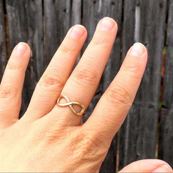 Jewelry 10 Kt Gold Infinity Symbol Ring Poshmark